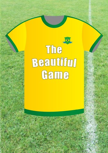 Big Pasty Productions Football Fever Beautiful Game Brazil Greeting Card (Beautiful Game Brazil)