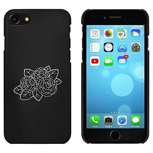 Noir 'Roses Belles' étui / housse pour iPhone 7 (MC00074265)