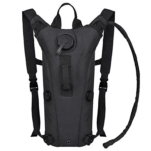 Liter Hydration Backpack - Hydration Backpack - 2.5L (Liter) Water Pack and Waterproof Tactical Hydration Pack for Running, Hiking, Cycling, Camping, Hunting, Biking, Festivals, Themed Parks and Prevents Dehydration