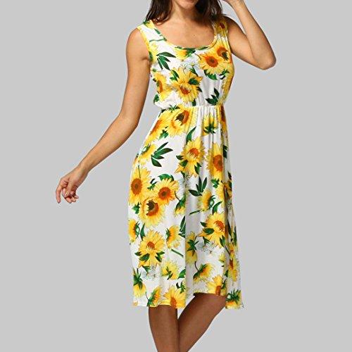 Haoricu-robe Jaune De Robe De Soirée De Mode Féminine