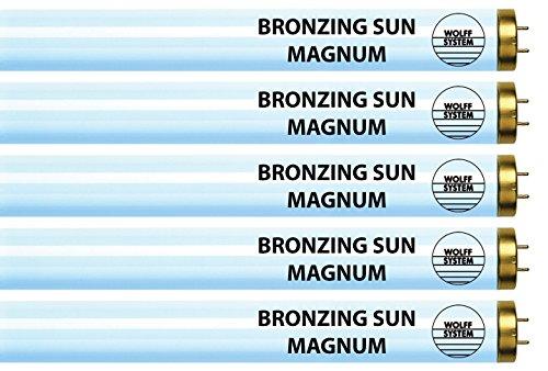Wolff Bronzing Sun Magnum FR71 HO 100W Bi Pin Reflector Tanning Lamp (Pro Sun Tanning Beds)