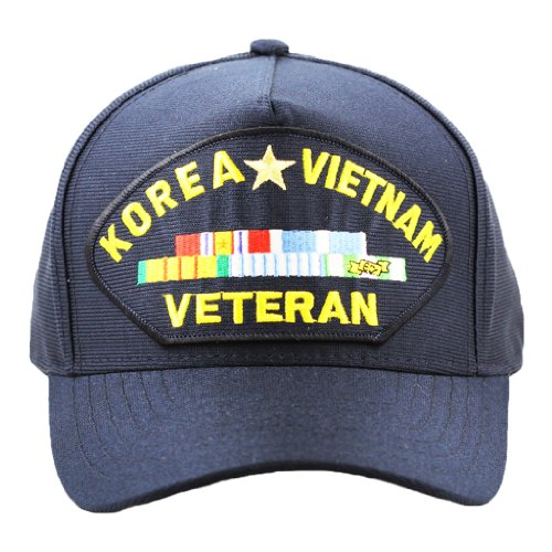 Korea Vietnam Veteran Hat For Men Women, Military Collectibles, Caps and Apparel