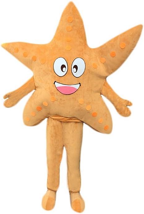 Langteng Disfraz de Estrella de mar, diseño de Mascota Cartoon ...