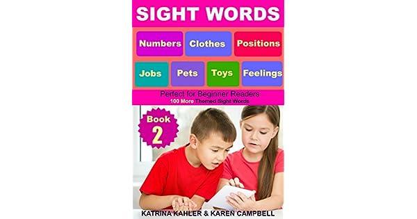 Amazon.com: SIGHT WORDS - Level 1: Book 2 - Pets Clothes ...