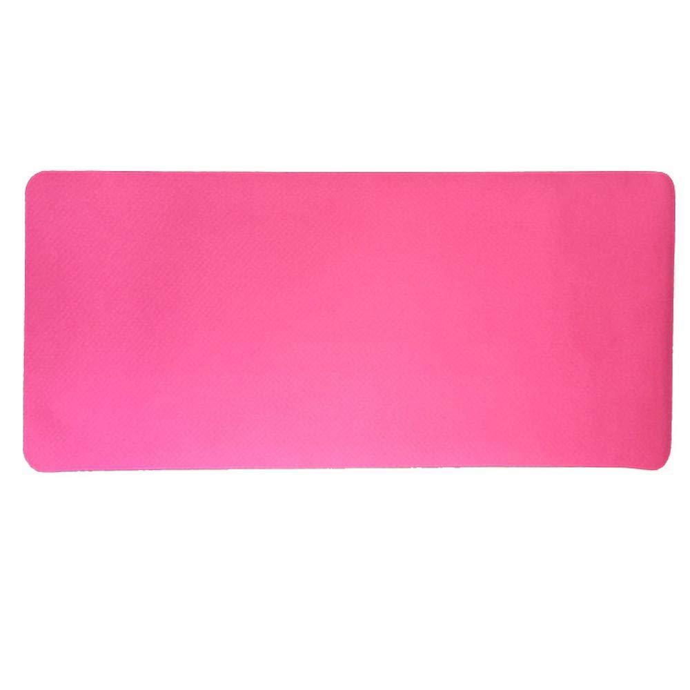 Sweety Sport-Yoga-Matte Natürlicher Kautschuk Rutschfeste Yogamatte 183  61  0.6 cm 2er Set