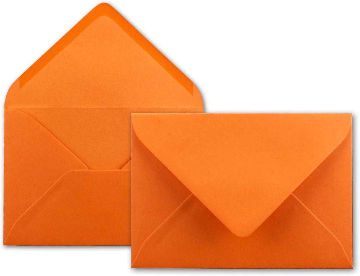 Serie Colours-4-you 12,5 x 17,5 cm 25 DIN B6 Briefumschl/äge Creme 80 g//m/² Nassklebung Post-Umschl/äge ohne Fenster f/ür Einladungen