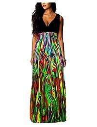 Ladies Womens Maxi Boho Summer Long Skirt Evening Cocktail Party Dress PLUS SIZE