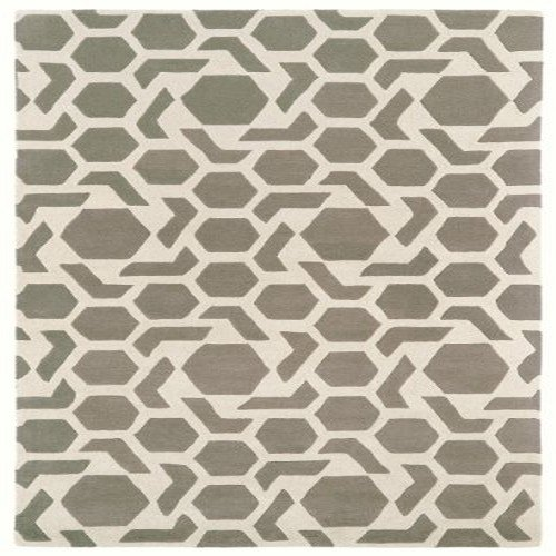 Kaleen Rugs Revolution Collection REV05-75 Grey Hand Tufted 8' x 11' Rug (Bohemian Revolution)