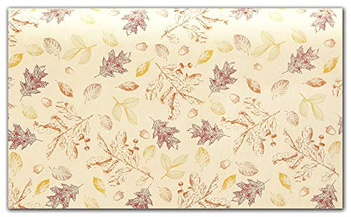 Fall Tissue - Fall Tissue Paper for Gift Wrapping (Golden Fall Leaves), 20 Large Sheets, 20