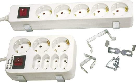 Globe Warehouse 4 Stück Halteklammer Set Metall Für Elektronik