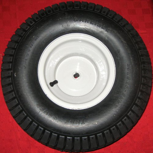 NEW 20x8 Rear Tire and Wheel Rim Assembly for Mtd, Gold, Troy-bilt, Huskee, Yard-man, White Outdoor, Bolens, Yard Machines Riding Lawn Mower - Tire Mtd