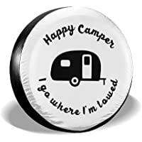 BaoyCea Cool Octopus Spare Tire Cover Polyester Universal Dust-Proof Waterproof Wheel Covers for Jeep Trailer RV SUV Truck and Many Vehicles 14 15 16 17