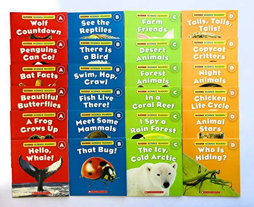 (Illustrated Guided Science Reader Collection of Animal Readers: A BIG Collection of 24 High-Interest Leveled Books for Guided Reading)