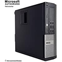2018 Dell 7020 Business High Performance SFF Desktop Computer PC (Intel Core i5 4570 3.2G,12G DDR3,3T,DVD,WiFi,HDMI,DP Port,VGA,USB 3.0,BT 4.0,W10P64)(Certified Refurbished)-Support-English/Spanish