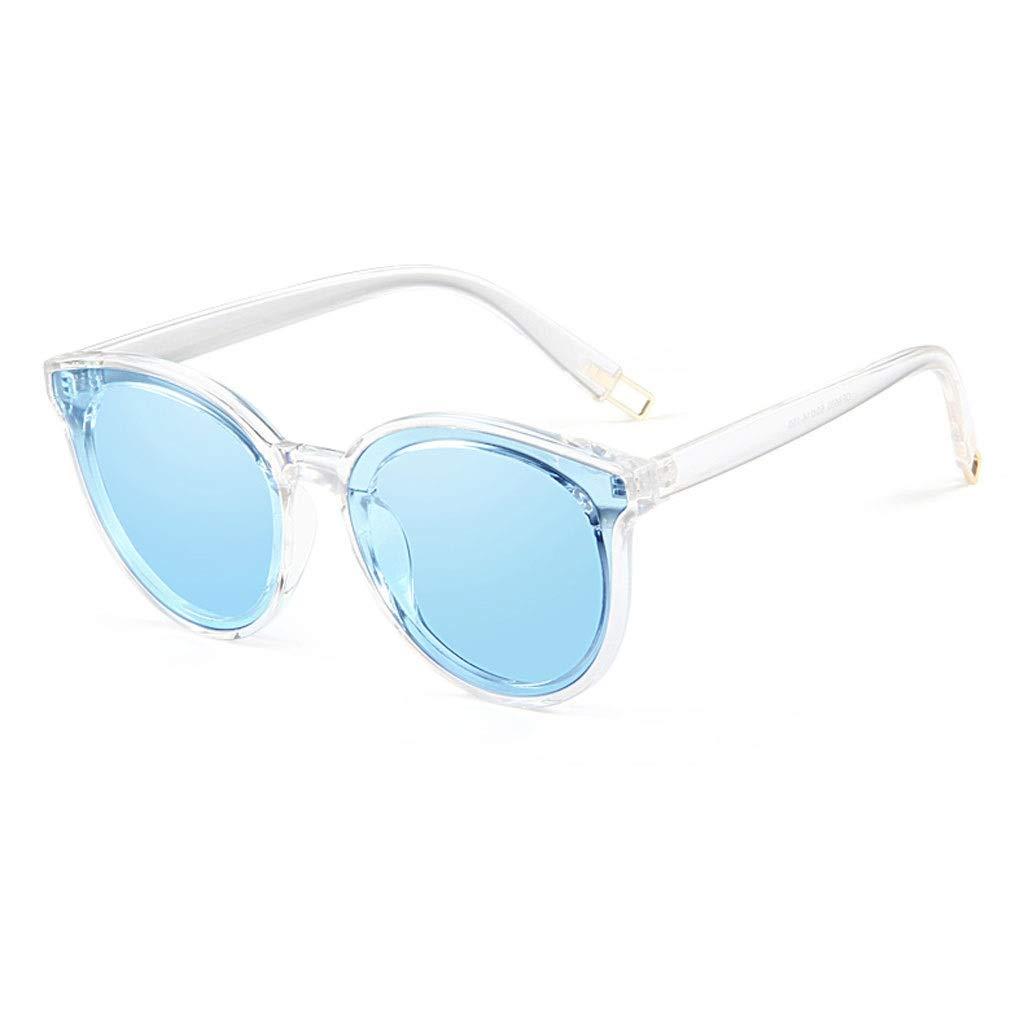 bluee RJTYJ Fashion Polarized Sunglasses Ladies Sunglasses PC Lens, Polarized, AntiRadiation, AntiUVA, AntiUVB, UV Predection (color   Pink)