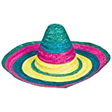 Amscan Amazing Costume Hat, Fiesta Sombrero, Party Wear, 1 piece