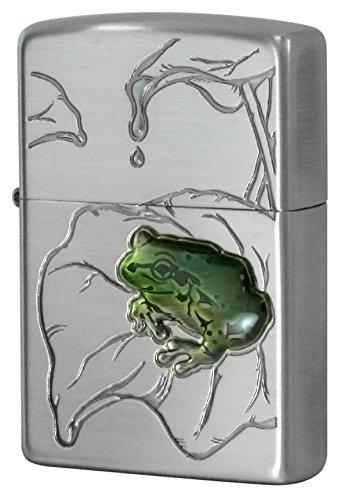 Zippo Frog Nickel plate