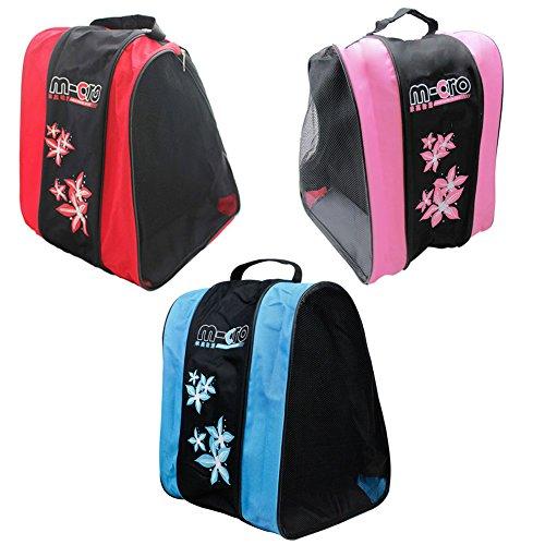 SHENGXIA Unisex Waterproof Nylon Triangle Roller Skates Carrying Shoulder Bag Ice Skating Shoes Bag