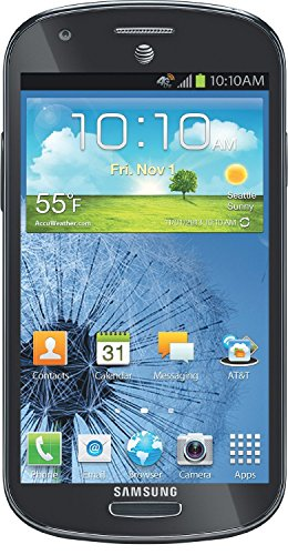 Samsung Galaxy Express I437 Unlocked GSM Phone with 4G, Android 4.0 OS, Dual-Core Processor, 4.5