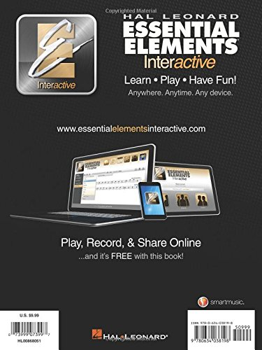 Amazon com: Essential Elements for Strings - Book 1 with EEi