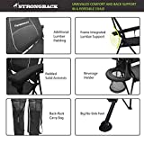 STRONGBACK Elite Folding Camping Chair with Lumbar