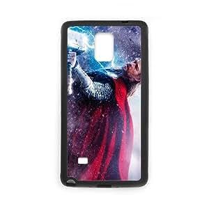 Thor 011 funda Samsung Galaxy Note 4 Negro de la cubierta del teléfono celular de la cubierta del caso funda EVAXLKNBC12000