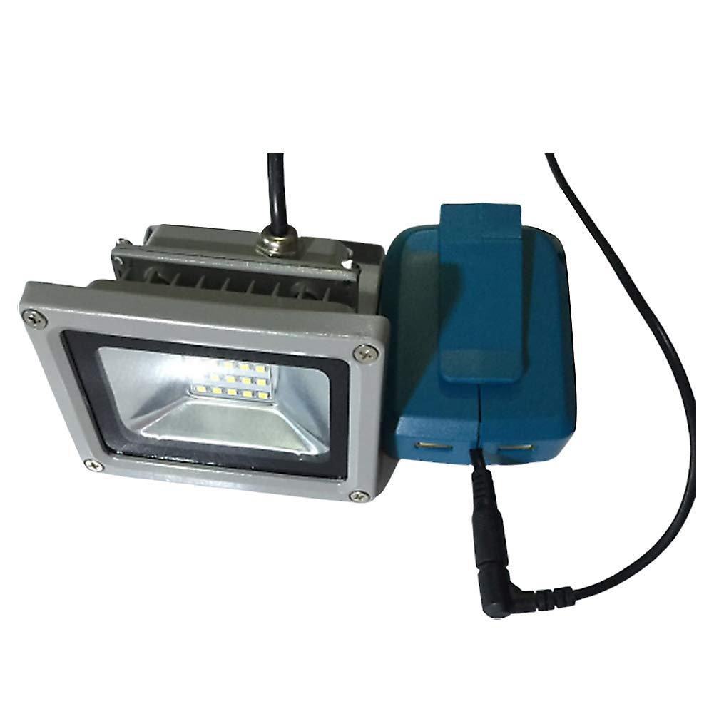 XuBa Adaptateur de Chargeur USB Lampe LED 10 W pour MAKITA ADP05 18 V 14,4 V
