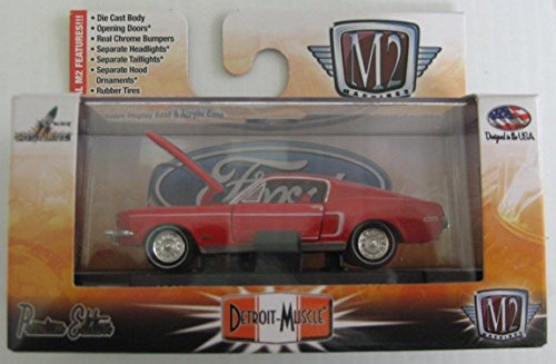M2 Machines Detroit Muscle Series 1968 Ford Mustang Boss 429 Target Exclusive