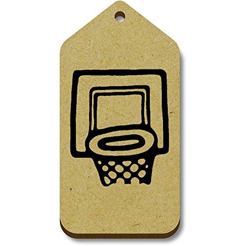 34mm Hoop' 'Basketball X 10 66mm tg00063857 bagagelabels Geschenk xvqPgA7