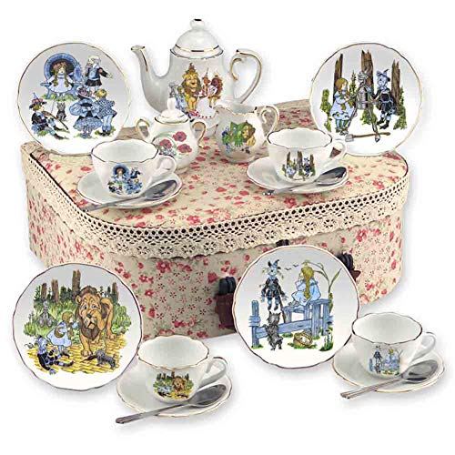 Tea Hamper - Reutter Porcelain Wizard of Oz Tea Set with Hamper Case - Medium