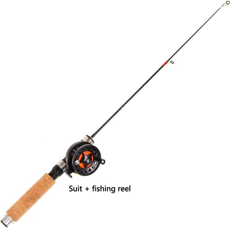 Amazon Com Wingbind Fly Rod Outfit Telescopic Fly Fishing Rod And Reel Combos Ultra Lightweight Super Hard Portable Ice Fishing Spinning Fishing Rod Suit Sports Outdoors