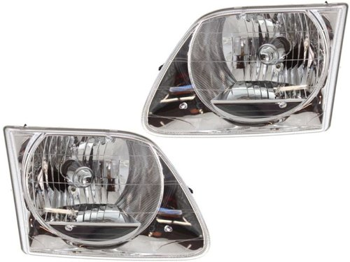 Ford F150 Replacement Headlight Assembly - 1-Pair ()