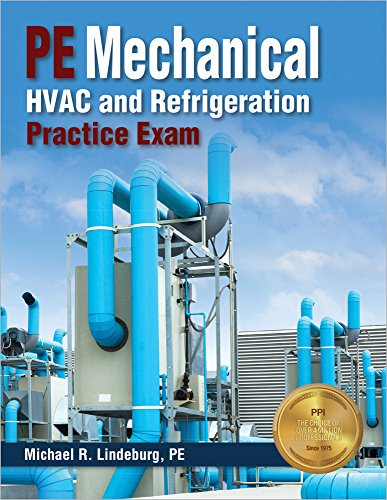 PE Mechanical HVAC and Refrigeration Practice Exam