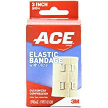 ACE Elastic Bandage with Clips, 3 Inch