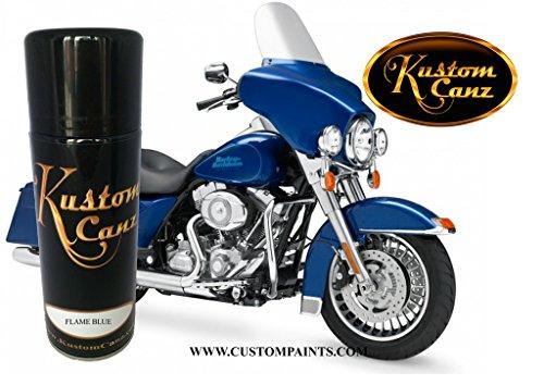 Kustom Canz Harley Davidson Flame Blue - 12oz Aerosol can - Paint Code 10155 - Harley Paint Flame