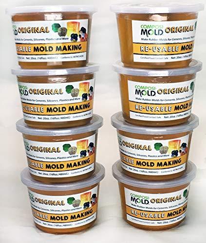 ComposiMold Re-usable MoldMaking Material (Original) 10 lbs. (8x20oz) by ComposiMold (Image #10)