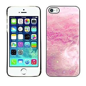 PC/Aluminum Funda Carcasa protectora para Apple Iphone 5 / 5S White Rain Cloud Spring Abstract / JUSTGO PHONE PROTECTOR