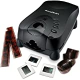 Pacific Image PrimeFilm XA Automatic 35mm Film & Slide Scanner - Batch scanning up to 40 frames at once, 3-line RGB linear CCD sensor, 10,000 x 10,000 dpi, 48-bit