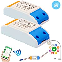 Wifi Smart Switch Diy Home Automation 2pack Home...