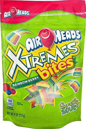 Van Melle AirHeads Xtremes Bites Rainbow Berry, 9 oz -