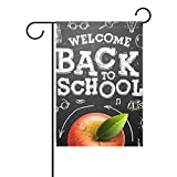 My Daily Welcome Back to School Decorative Double Sided House Flag 28 x 40 inch