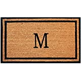 Merveilleux Envelor Doormat Outdoor Welcome Coir Monogrammed M Non Slip Personalized  Shoe Scraper Floor 18 X 30