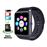 Smart Watch MRS LONG YG8 Bluetooth Sweatproof Wrist Smart Watch with Touch Screen / Handsfree Call / Camera /anti-lost /Call reminder for Android Included 16G SD Card(Black)