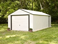 Vinyl Murryhill Storage Building, 12x24(12 x 24 ft.3,6 x 7,2 m)