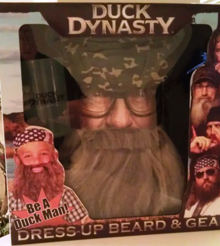 Duck Dynasty Dress-Up Beard & Gear Uncle Si -