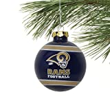 St. Louis Rams 2012 Team Logo Glass Ball Ornament