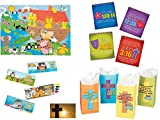 BizzyBecca Religious Christian Activity Kits for Kids (12 Sets)