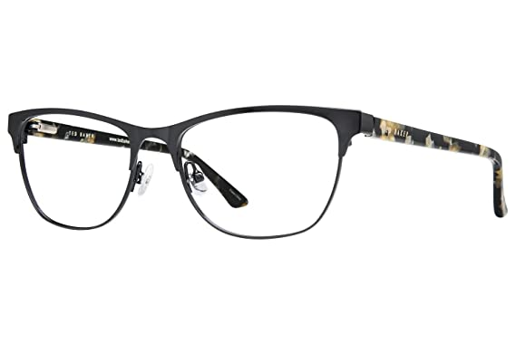 3602eb39bc Amazon.com  Ted Baker B238 Womens Eyeglass Frames - Black  Clothing