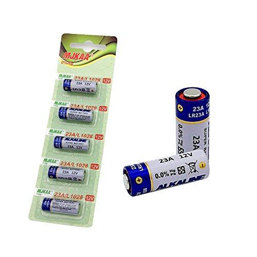 MJKAA A23 Battery 23A 12V Alkaline Battery for Garage Doors Opener Keyless Entry Doorbells and Alarm - Garage Fitting Door