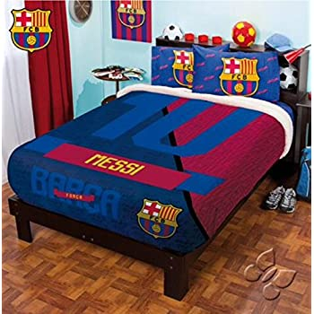 BARCELONA MESSI FC FOOTBALL CLUB OFFICIAL LICENSED FUZZY FLEECE BLANKET  TWIN FULL QUEEN. Amazon com  BARCELONA MESSI FC FOOTBALL CLUB OFFICIAL LICENSED